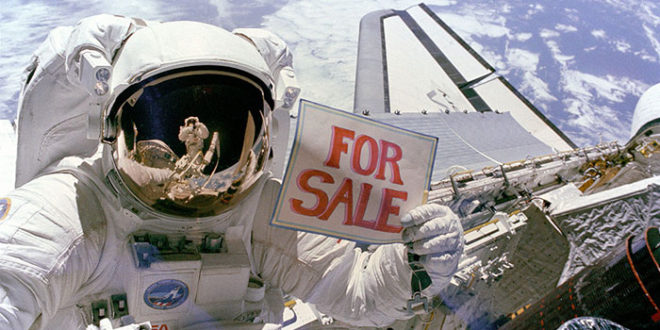 space advertising