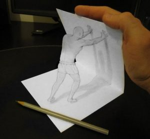 Amazing 3D drawing No.7
